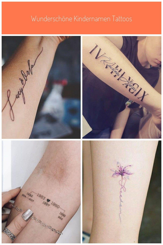 Kindername Tattoo