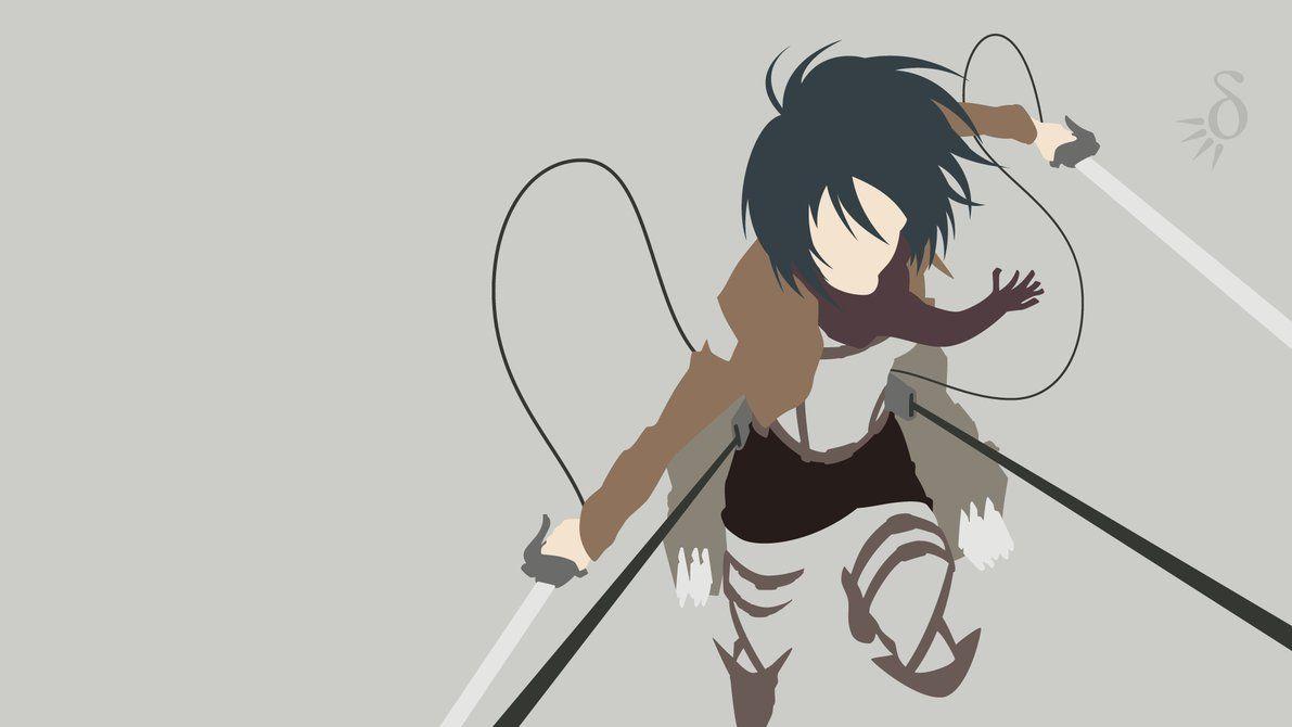 [Request] Shingeki no Kyojin - Mikasa Ackerman by Krukmeister on DeviantArt