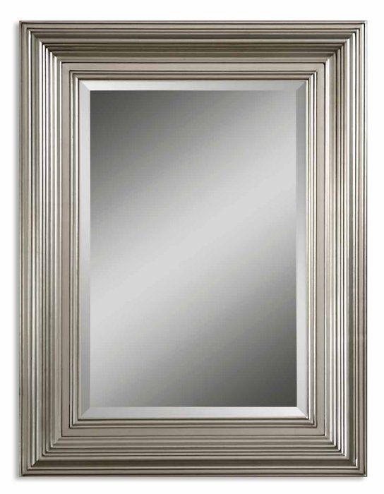 Wall Mirrors Decorative Uttermost Mario 41x31 Wall Mirror In Silver 14133b By Uttermost Mirror Wall Bedroom Mirror Wall Modern Mirror Wall