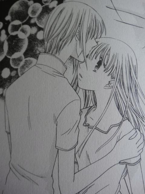 Yuki kisses Tohru!!! YESSSSSSSSSSSSSSS!!!!!! I have been waiting for rhis moment my whole life eeeeekeeeeekeekekekeeke