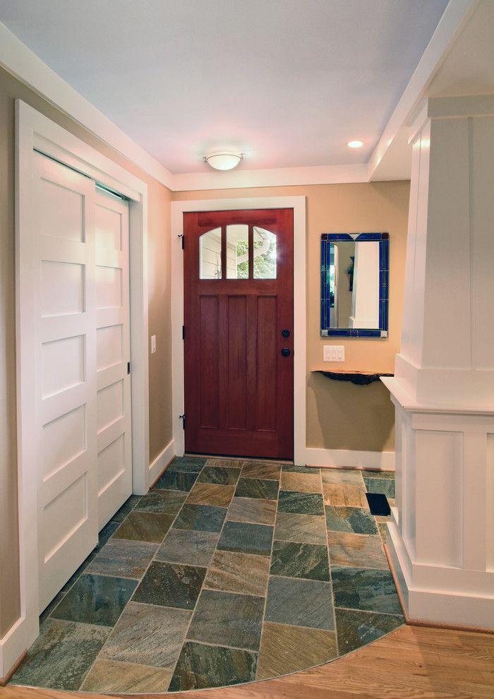 Sliding Closet Doors Bathroom Traditional With Glass Tile Beige