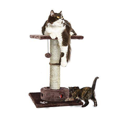 Furhaven Pet Tiger Tough Deluxe Cat Tree Tower Play Stairs Multi Level Playground Perch With Cat Patio De Juegos Para Gatos Rascador Para Gato Arañador De Gato