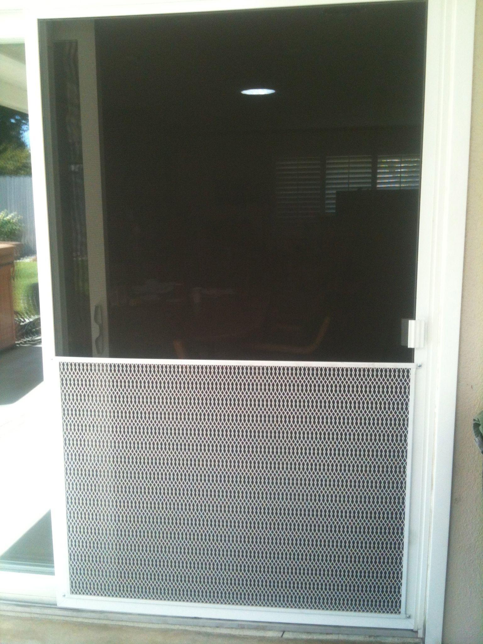 Patio screen door guards thefallguyediting pinterest