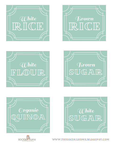 Labels for pretty pantry. Can also have them customized from her Etsy site!