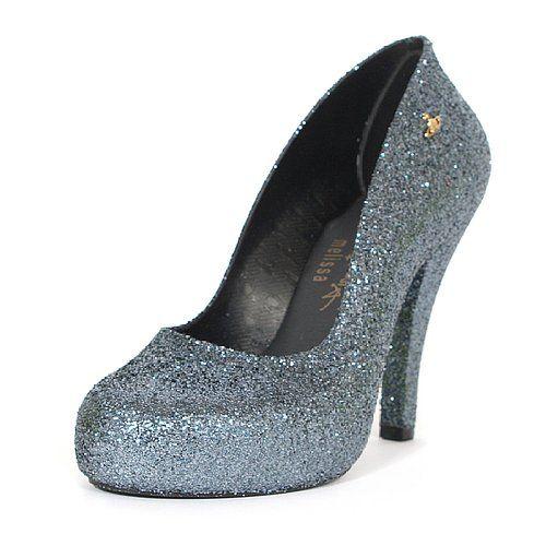 Melissa X Vivienne Westwood Glitter Skyscraper High Heel