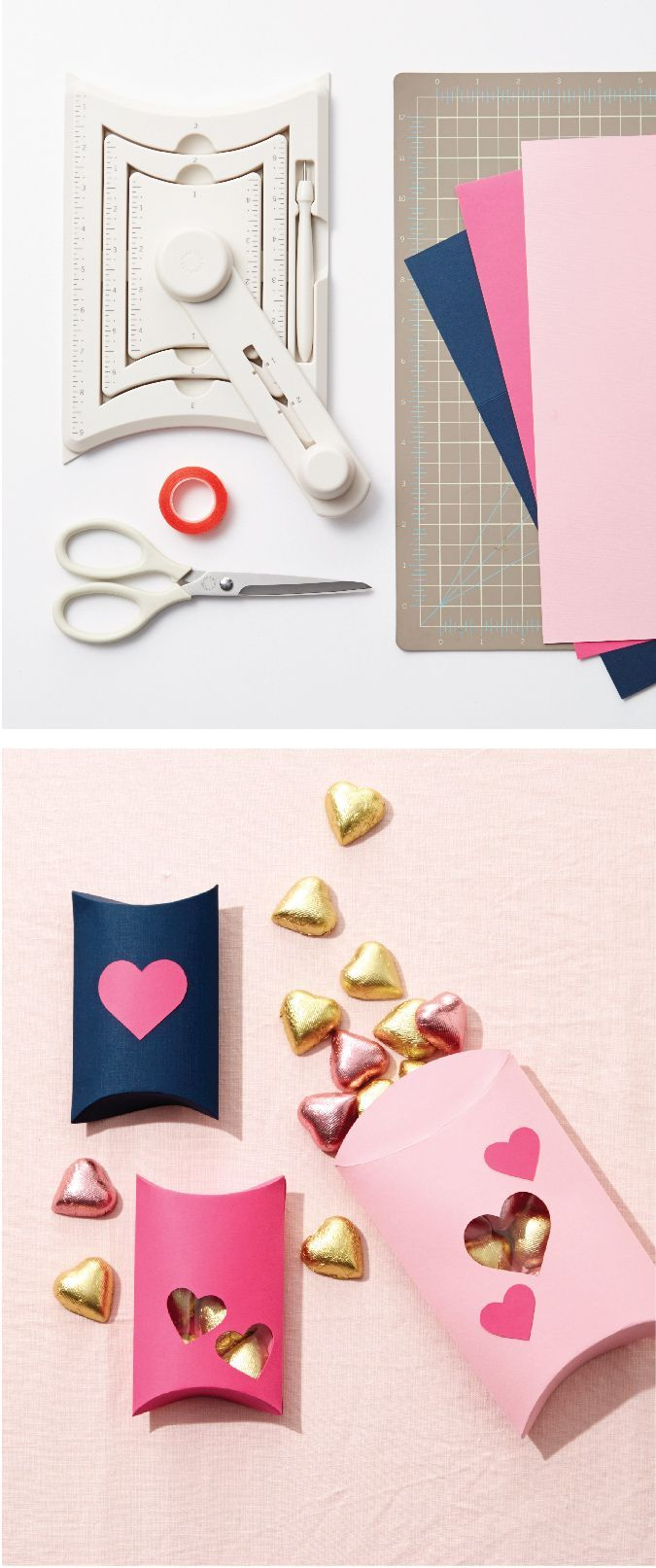 Treat your valentine with something sweet using the pillow gift box ...