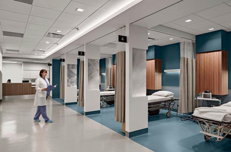 Health care design interior