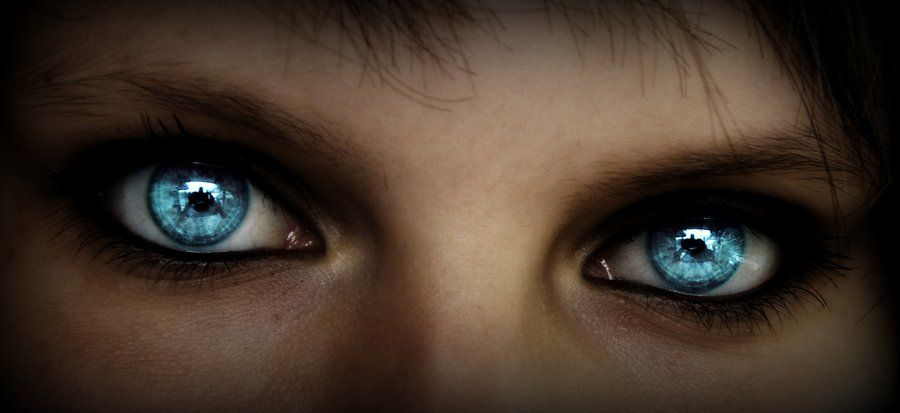 Ice blue eyes by Sakiama on DeviantArt | Crystal blue eyes, Blue eyes aesthetic, Blue eye color
