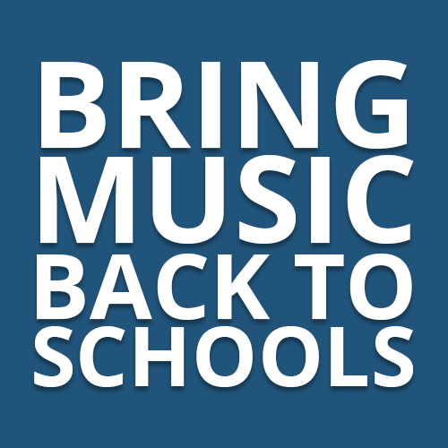 Parents, Teachers, Families, Students, Community Leaders & Music Artists. Music Integrated Education. Together we can!