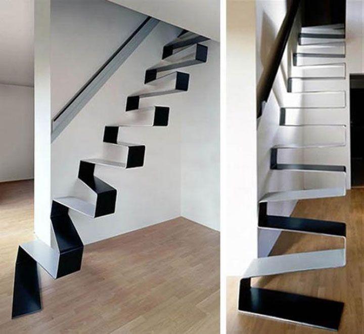 30 escaliers absolument magnifiques dont vous r veriez de monter les marches en 2019. Black Bedroom Furniture Sets. Home Design Ideas