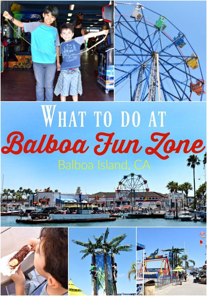 What To Do At Balboa Fun Zone Island