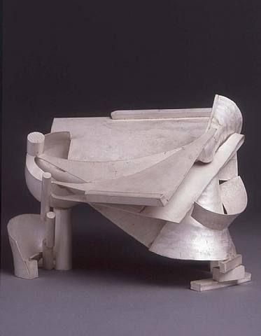 Anthony Caro, Silver Piece 14 (China) 1984