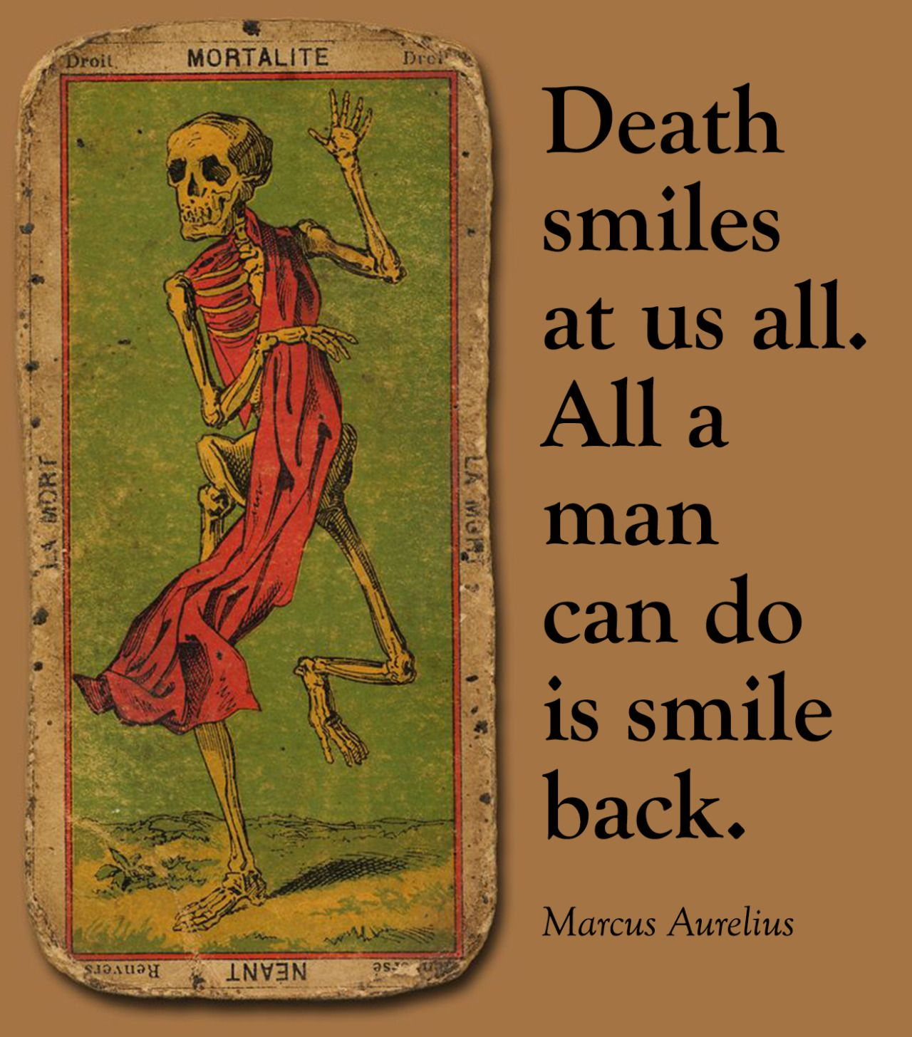 Smile Back Thought Food Pinterest Quotes Marcus Aurelius