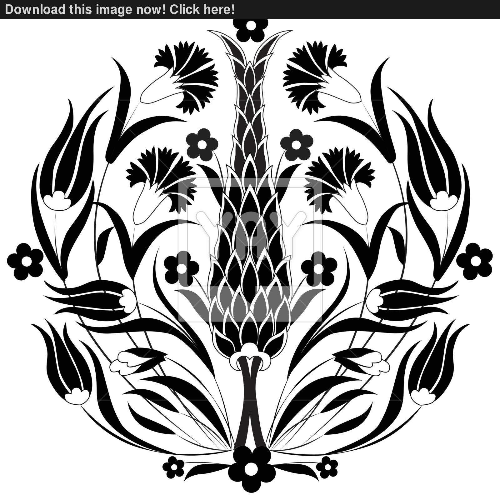 oriental-ottoman-design-black-91454978.jpg 1.600×1.600 piksel