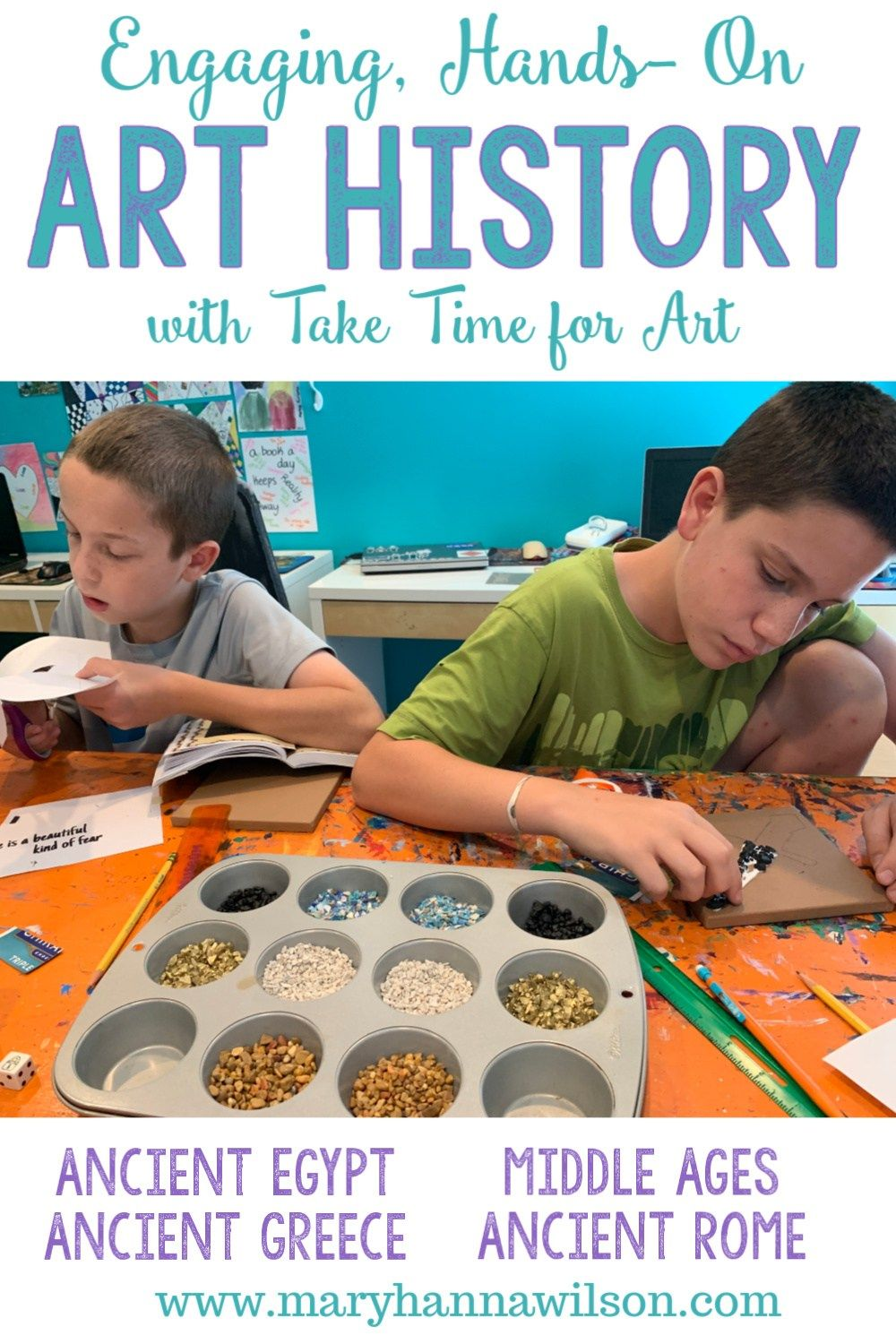 Photo of Engaging, Hands-On on Art History Lessons with Take Time for Art – Homeschooling with Mary Hanna Wil