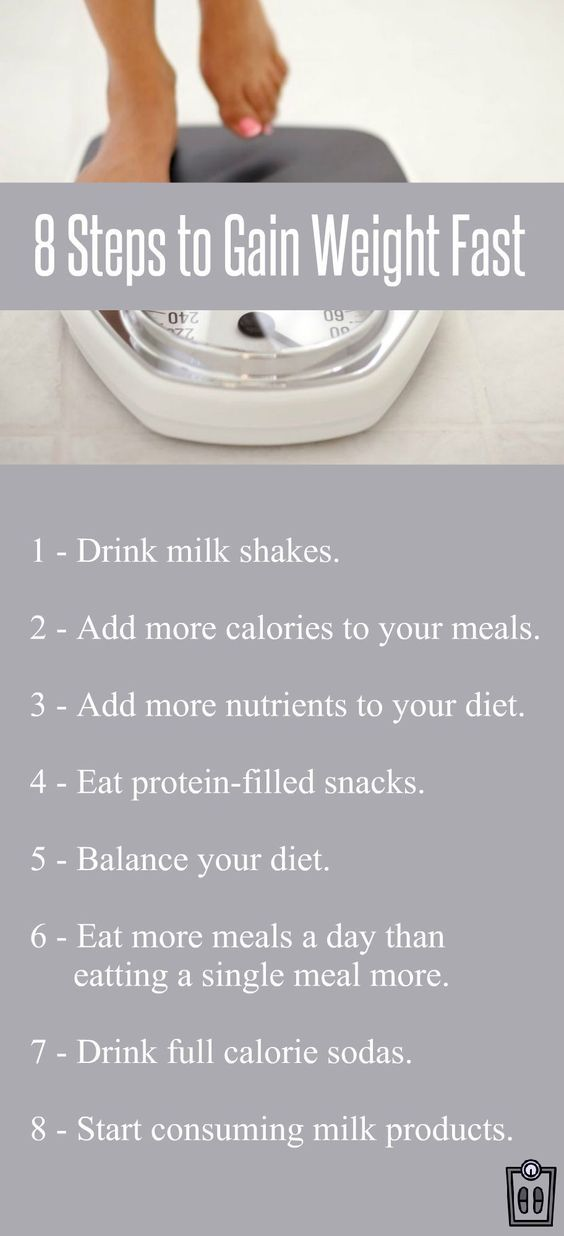 Find Out The Best 8 Weight Gain Tips For Men And Women To