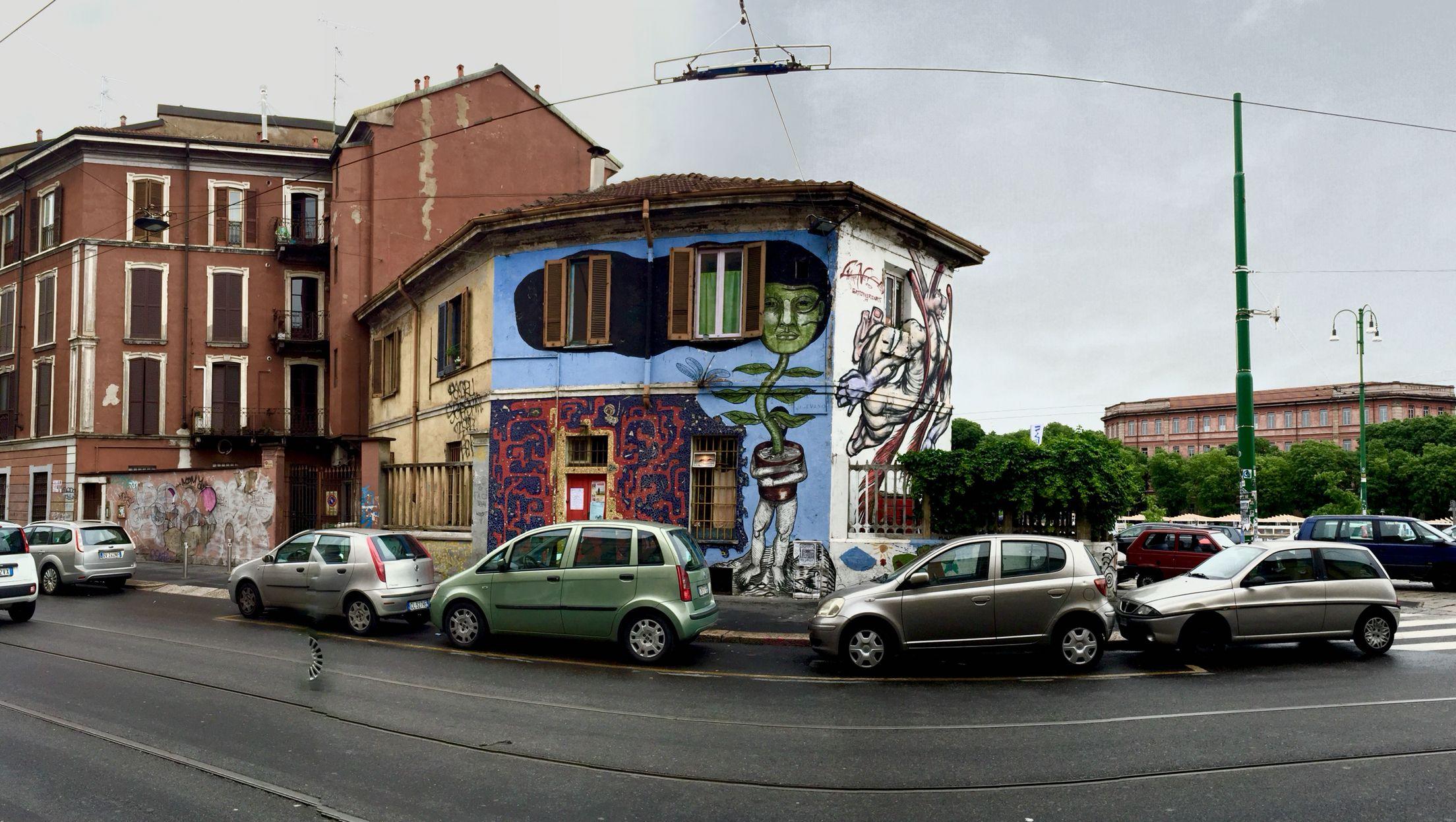 Alessandro Gatti Gatto Nero Art via Vigevano Milano | PERSONALE ...