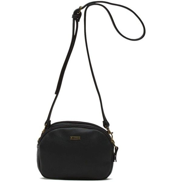 f1d90442d3f Vans Fiddle Crossbody Bag ( 35) ❤ liked on Polyvore featuring bags,  handbags, shoulder bags, black, snap closure purse, pu handbags, crossbody  handbag, ...