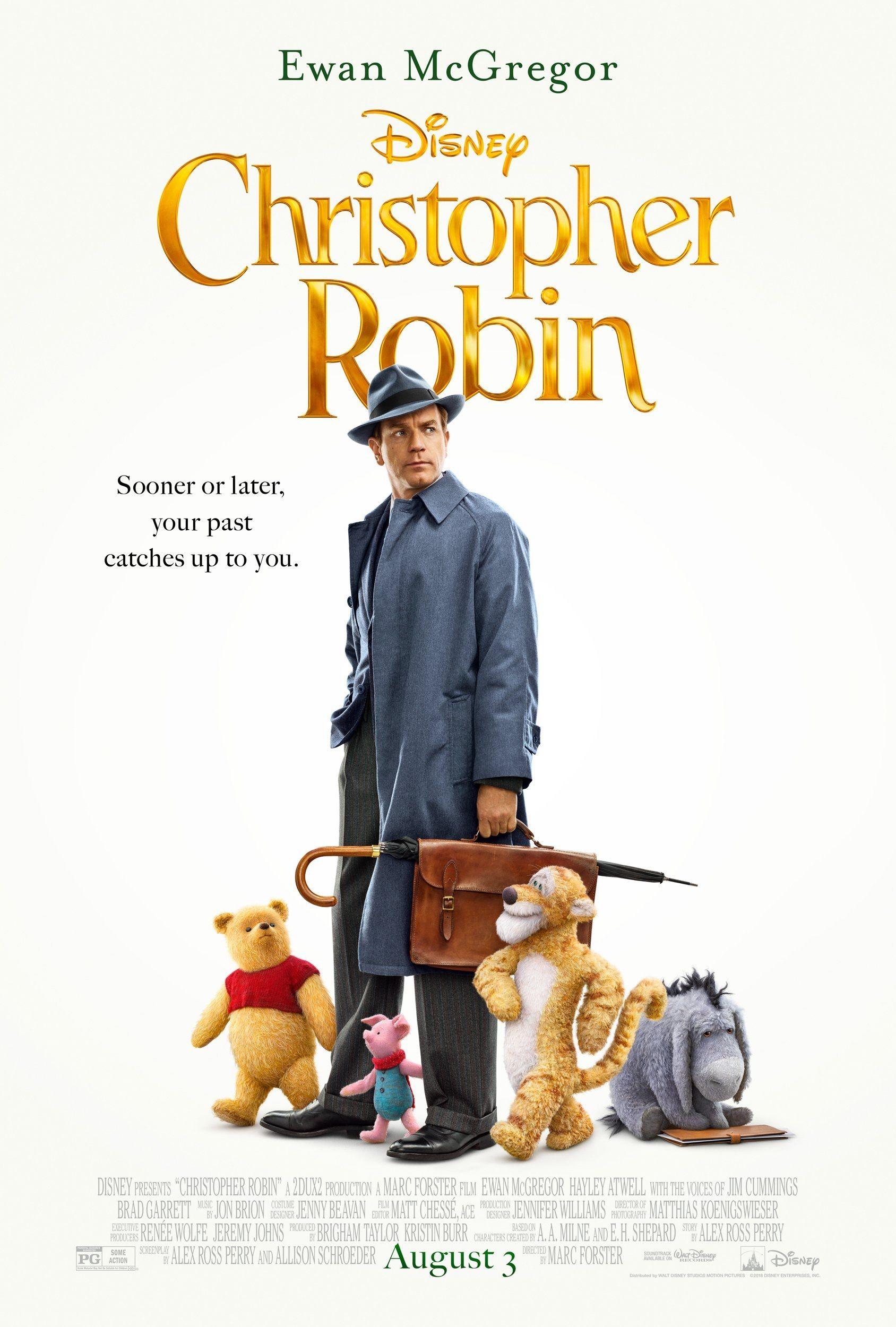 Disney's Christopher Robin Movie Poster