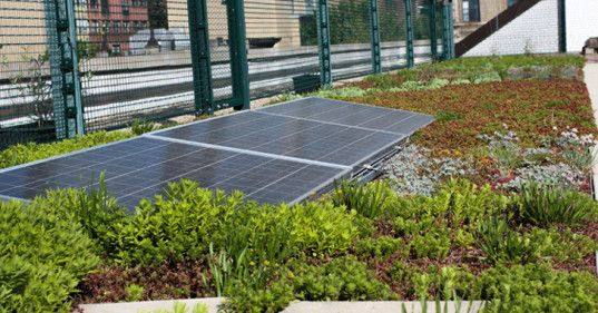 Solar Roofs In New York City Schools Become Part Of The Curriculum Green Roof Solar Solar Roof