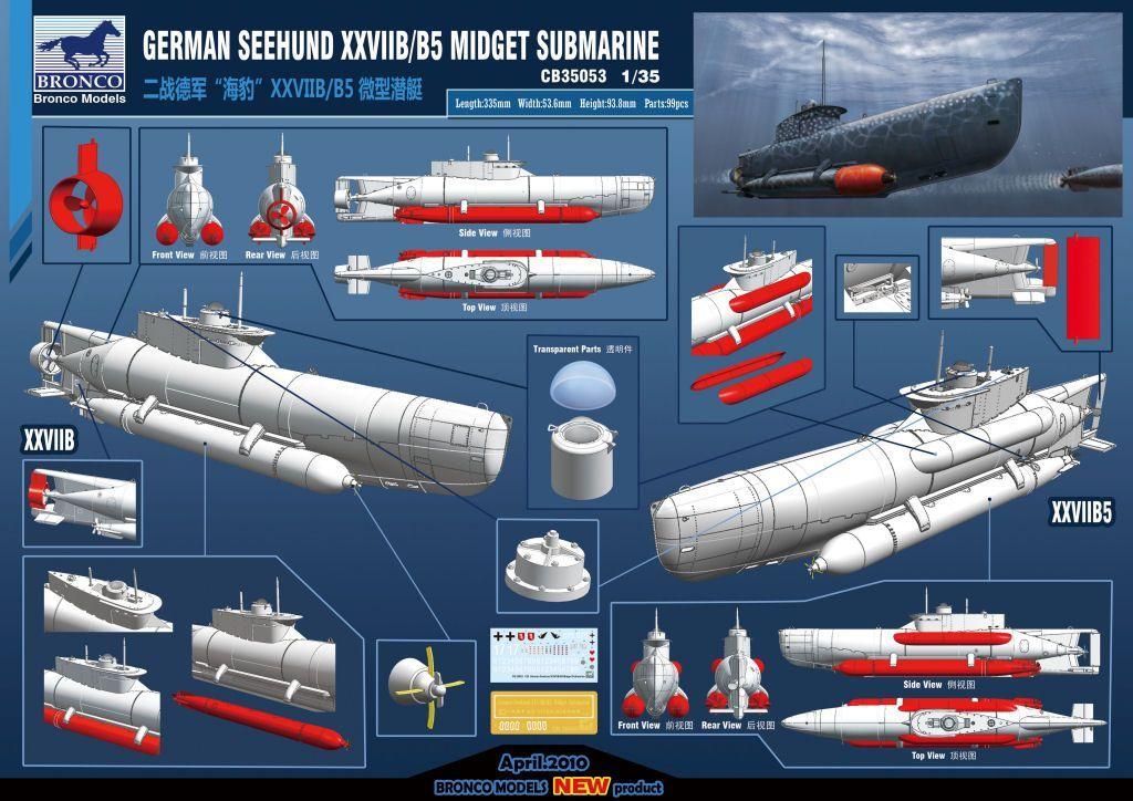 Midget submarines of the second world war