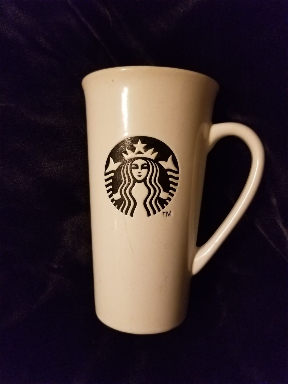 Starbucks Porcelain mug with handle and lid. Tea accessories