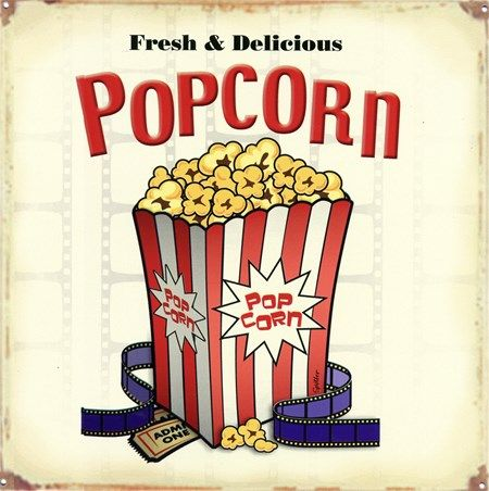 Fresh & Delicious Popcorn - Get It Whilst It's Hot
