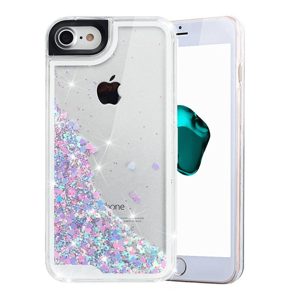 l'atteggiamento migliore c33a0 573eb Amazon.com: iPhone 7 Case, iPhone 7 Liquid Case, VEGO ...