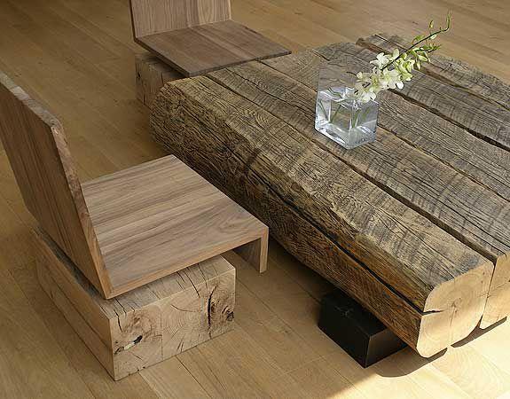 Wood Table Rustic Reclaimed Furniture, Reclaimed Lumber Furniture