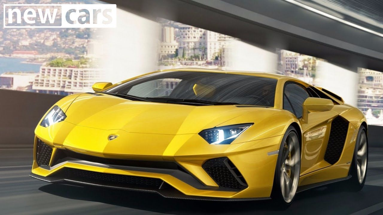 The New Lamborghini Aventador S Is Characterized By New Aerodynamic Design  Redeveloped Suspension Increased Power And
