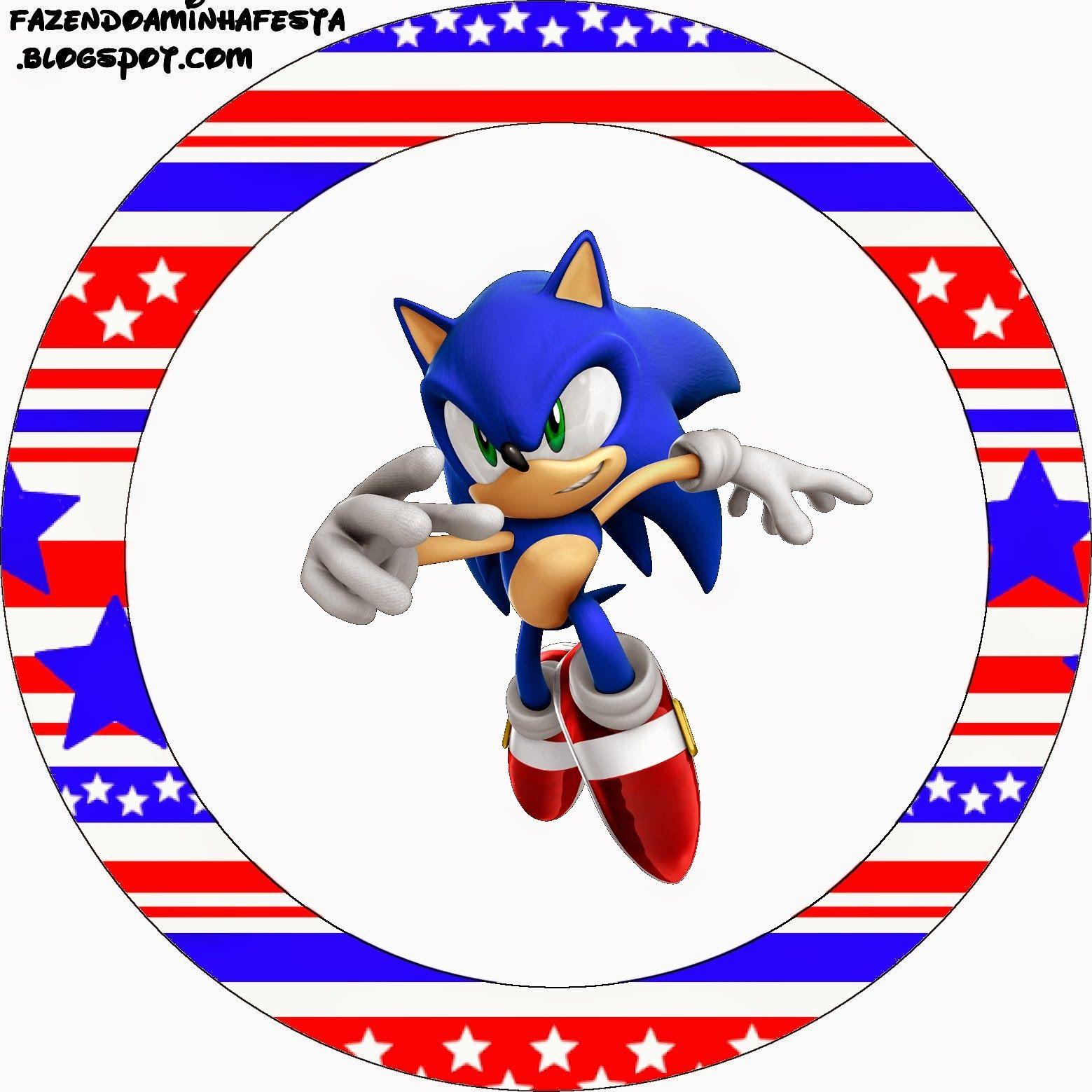 Sonic: Etiquetas Candy Bar para Imprimir Gratis. | REFERENCIAS ...