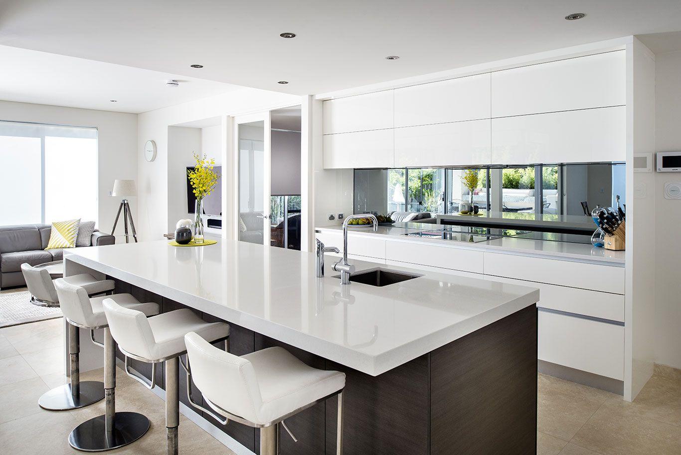 Perth Contemporary Kitchen Designers Cabinet Makers Interior Design Kitchen Kitchen Design Ideas Dark Cabinets Modern Kitchen Design
