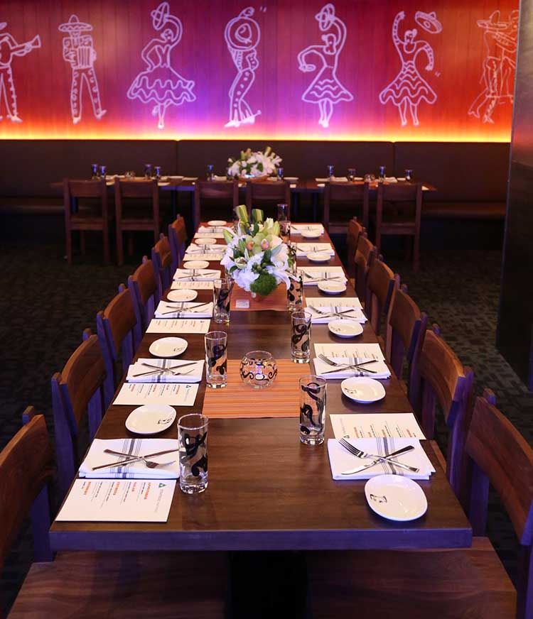 weddings by border grill las vegas at the forum shops in caesars private dining room. beautiful ideas. Home Design Ideas