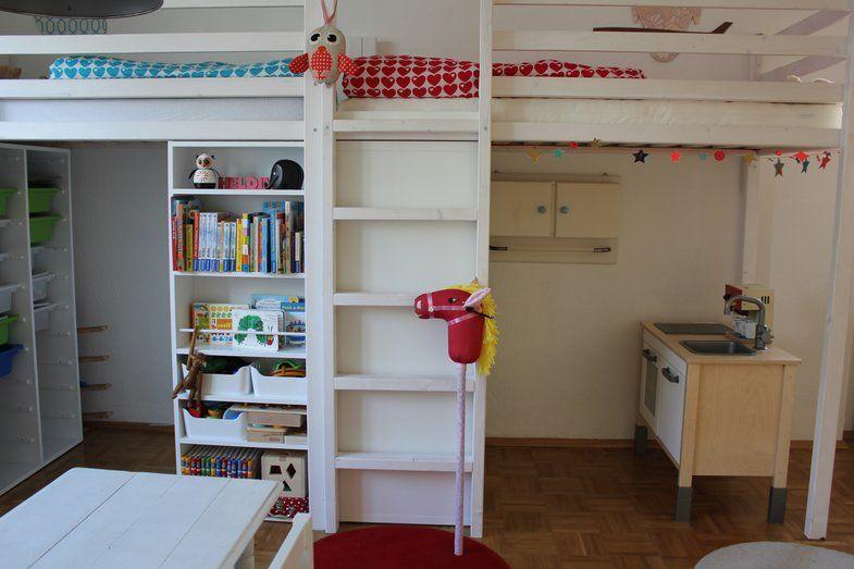 Simple Hochbett Kinderzimmer