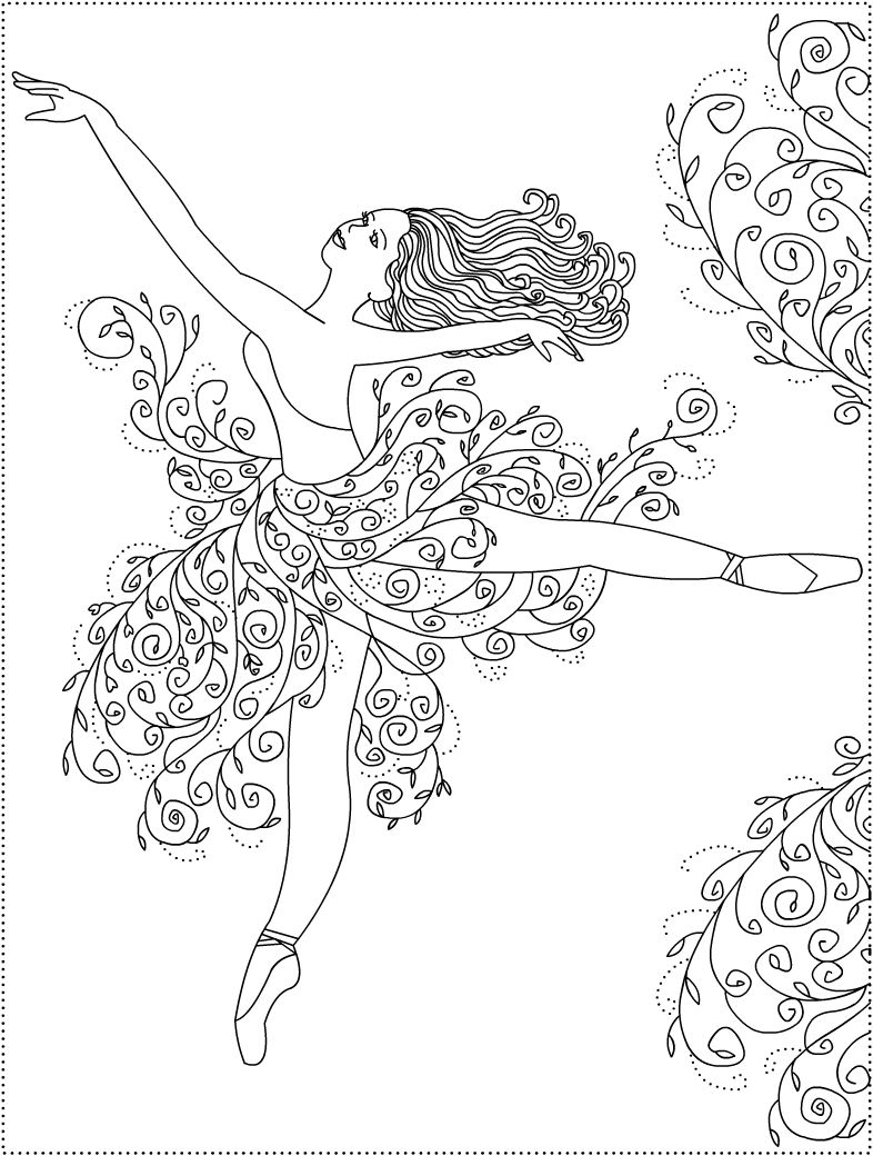 nicoles free coloring pages dance
