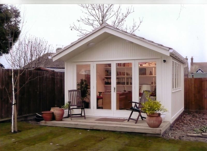 Garden Offices Working From Your Shed Inspirationfeed Craft Shed Building A Shed Shed Design