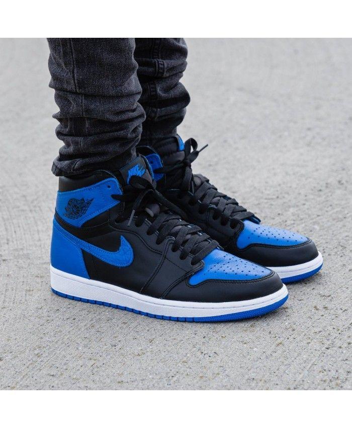 size 40 e5d88 2148b Nike Air Jordan 1 Retro High Og Trainers In Royal City Blue ...