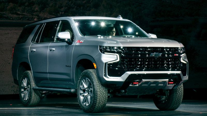 For 2021 Chevy Tahoe Suburban New Z71 Trim Won T Get The Diesel