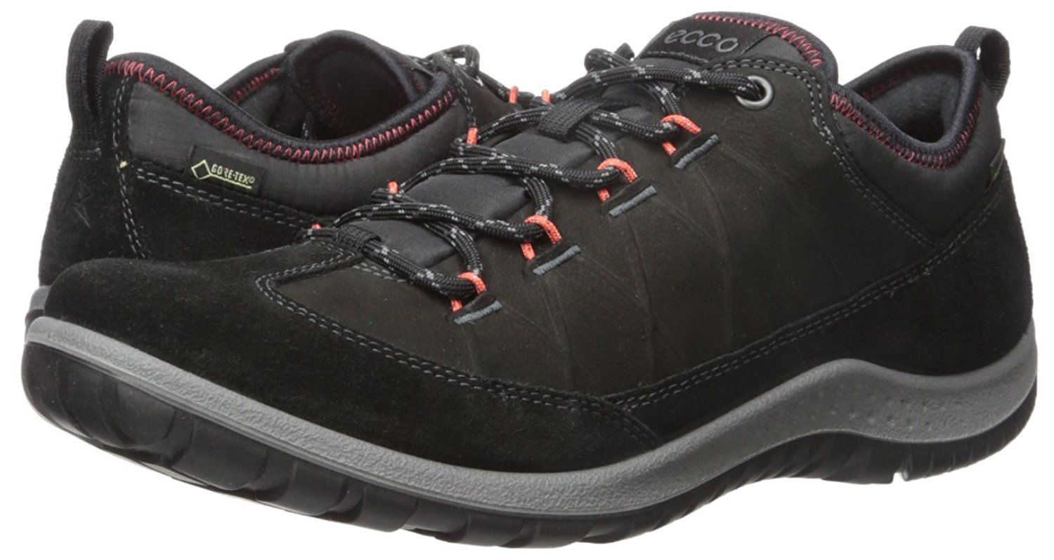 39fa4b1e5ca22 ECCO Women's Aspina Low Gore-Tex Hiking Shoe * Visit the image link more  details. (This is an affiliate link) #HikingShoes