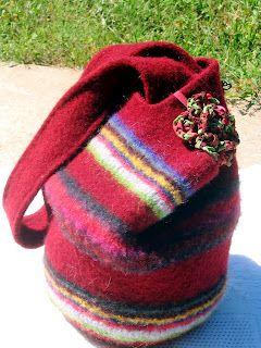 Crochet Lucy Bag.