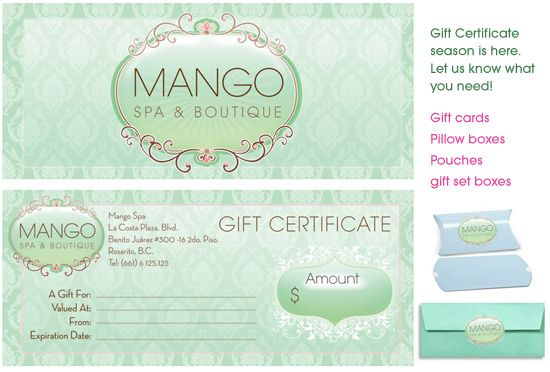 gift certificates candy boutique pinterest gift