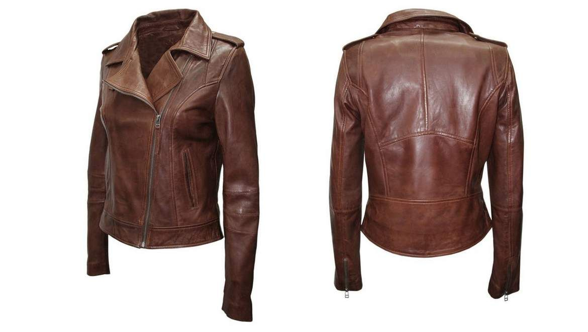 Women's leather jacket #Best Quality Charming look #2017 Fashion https://www.facebook.com/textileconsultants/