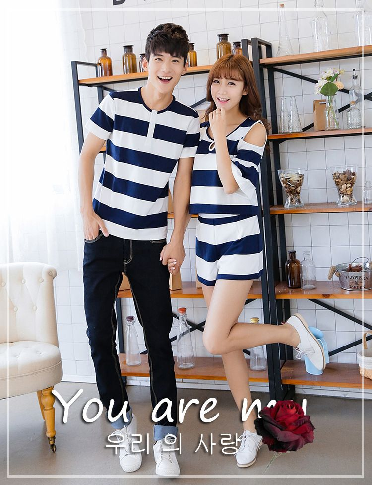 1a03ecfd4 Find More T-Shirts Information about 2015 korean couple shirts fashion for  beach for lovers