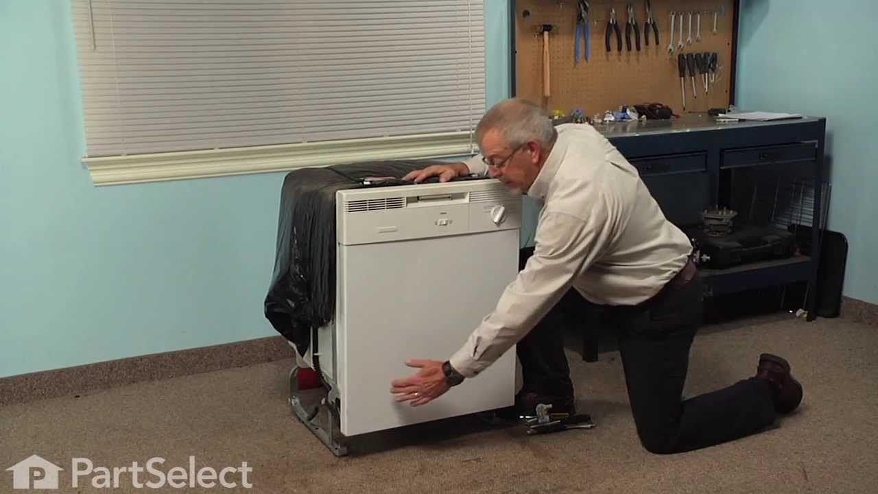 Dishwasher repair replacing the water inlet valve
