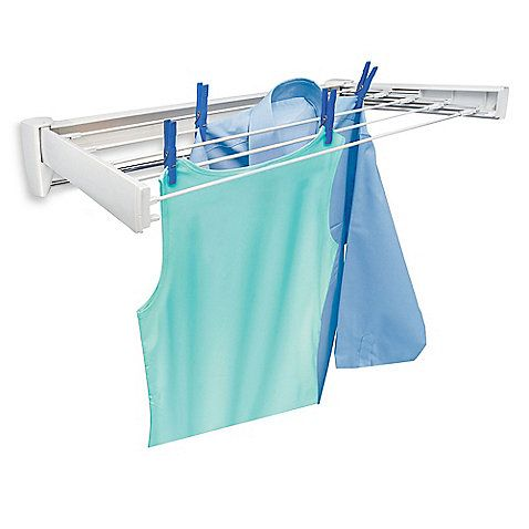 Bed Bath And Beyond Drying Rack Leifheit Telefix 70 Stainless Steel Wallmount Drying Rackfound