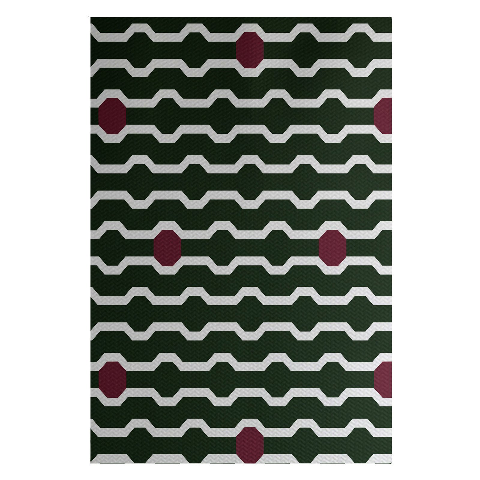 E By Design Nuts And Bolts Indoor Outdoor Area Rug Dark Green Cranberry Indoor Outdoor Area Rugs Area Rugs Outdoor Area Rugs