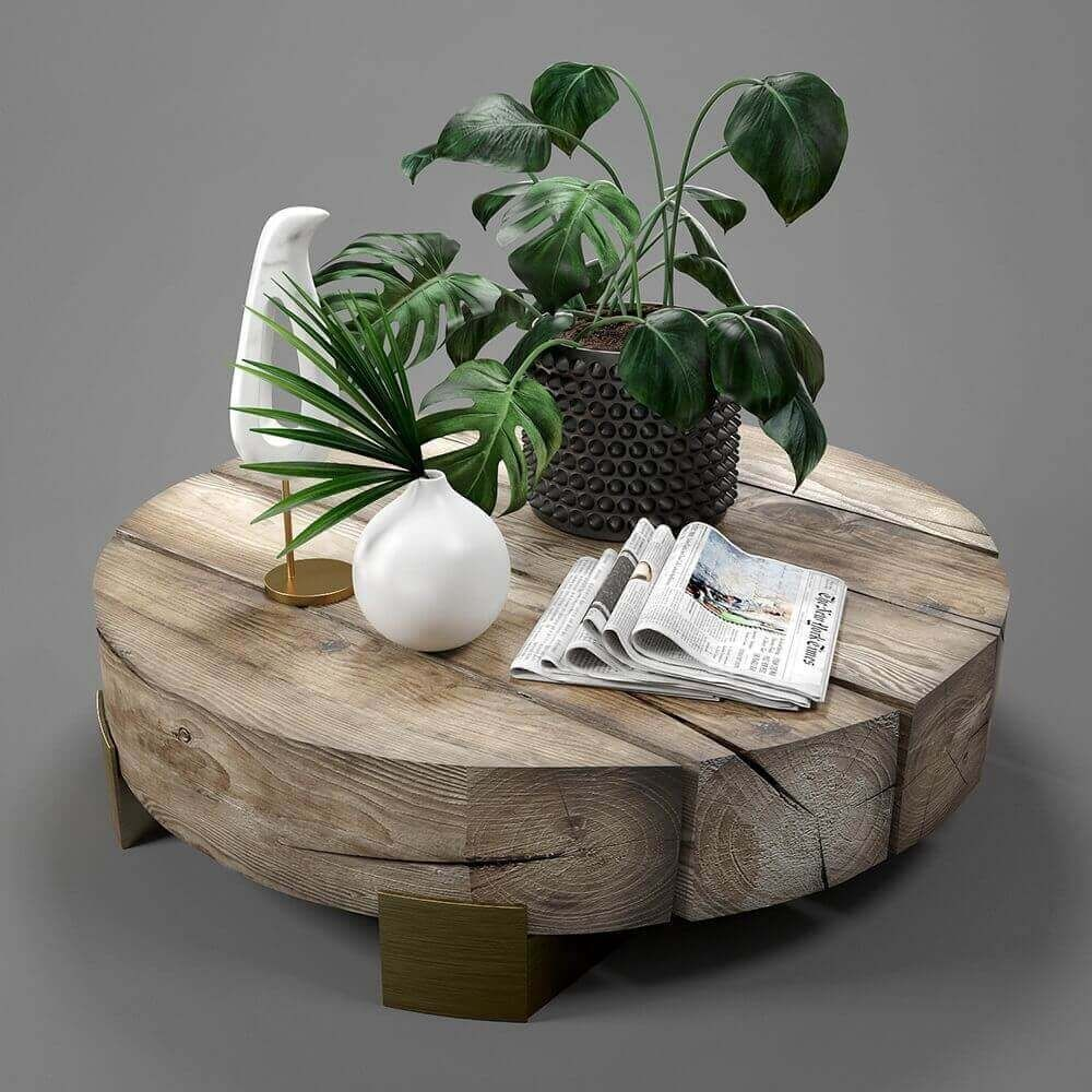Cgsouq Home Facebook Round Wooden Coffee Table Coffee Table Decorating Coffee Tables [ 1000 x 1000 Pixel ]