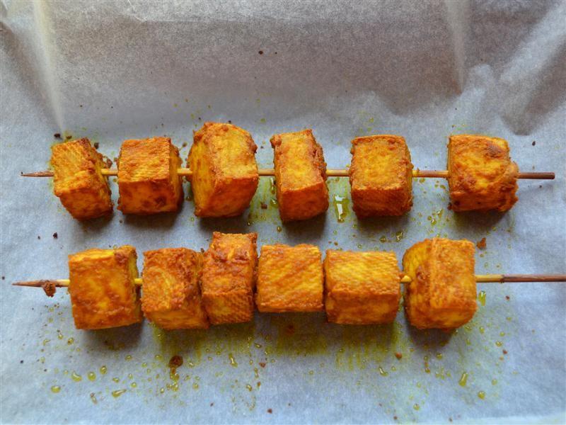 Tofu pieczone z curry 04