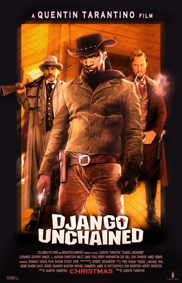 Django Unchained Streaming Vf : django, unchained, streaming, Django, Unchained, Poster, Unchained,, Quentin, Tarantino, Films,, Movies