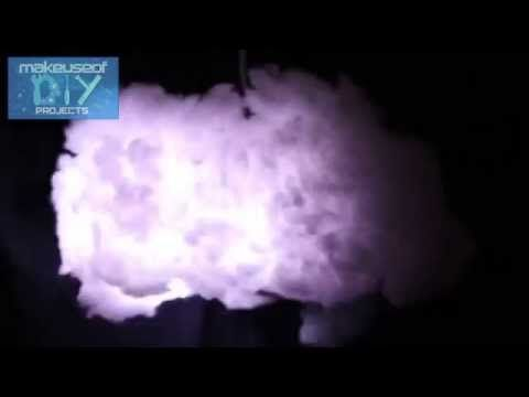 How To Build A Cloud Lamp With Sound Reactive Lightning Cloud
